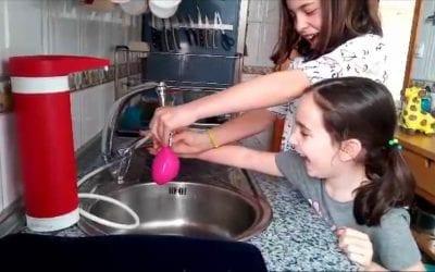 6 Experimentos con agua para niños