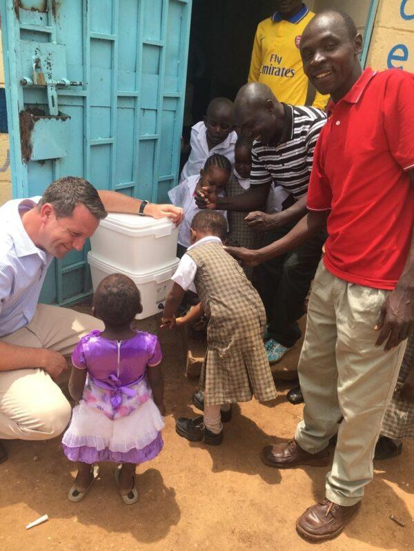 Filtro agua ayuda humanitaria British Berkefeld