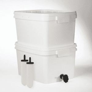 Kit de filtración de gravedad HFK British Berkefeld