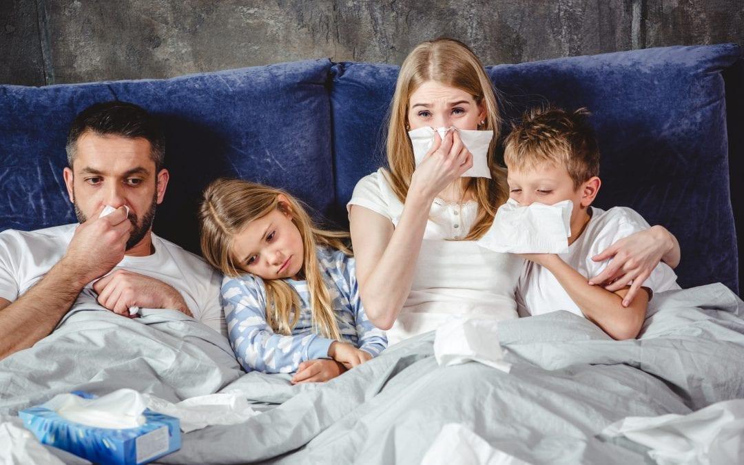¿Por qué beber agua ayuda contra la gripe?