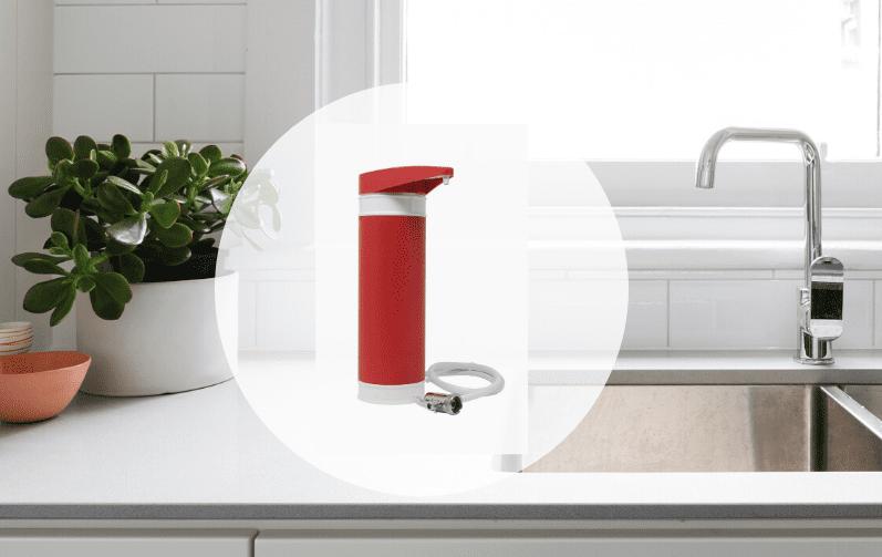 Filtadapt Rojo de Doulton para filtrar agua en casa