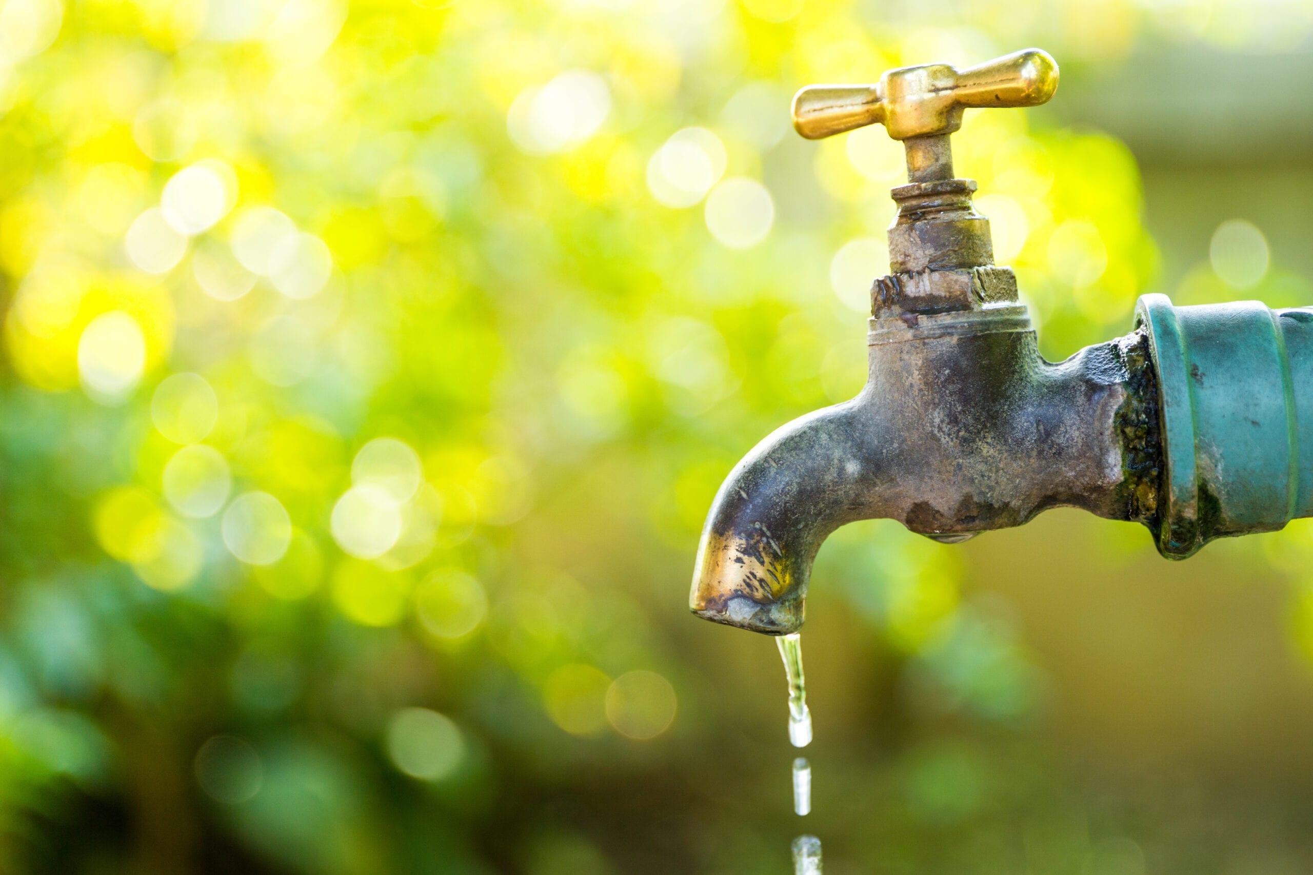 Vapor de agua filtrada con un filtro Doulton